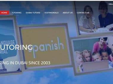 Website for a Institute in Dubai