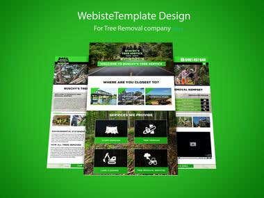 Website design for Tree Removal Company