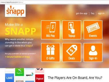Snapp | Pay Bills | Buy Deals, Events, Tickets