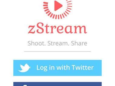 zStream - Video Streaming APP and WEBSITE