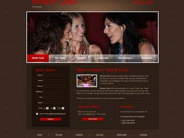 Longisland Winery Limo Website