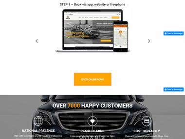 Car Booking website