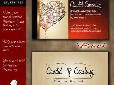 Business Card - Candid Coaching