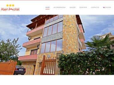 Alen Hotel Website