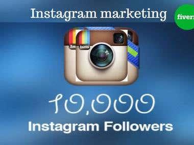 I will do Instagram marketing professionally and manually