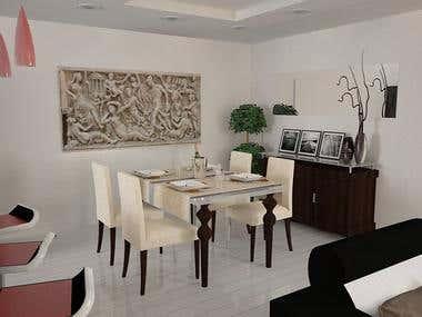 Diseño y Modelado 3D _ Apartamento - Estudio