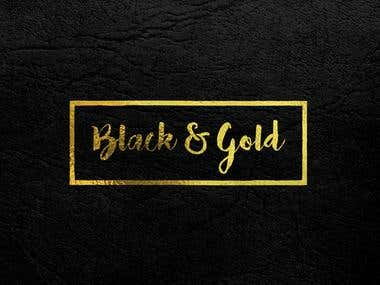 Logo Black and gold