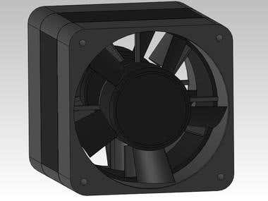Fan design for Closed loop wind tunnel