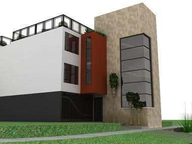 Modelado 3D Edificio