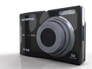 Camera modelling and 3D Rendering