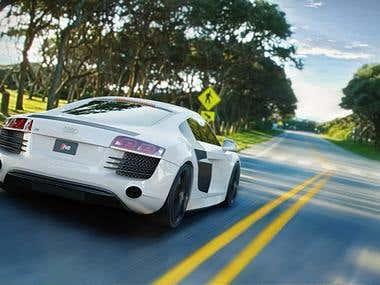 Audi 3D Modeling/Rendering