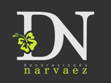 Diseño de Logotipo / Decoraciones Narvaez / 2017