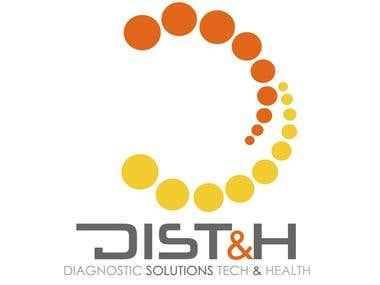Diseño de Logotipo / DIST&H / 2012