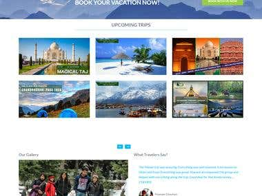Travel website
