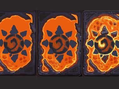 Fantasy Card Game Process