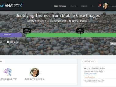 Identifying Themes from Mobile Case Images - CrowdANALYTIX