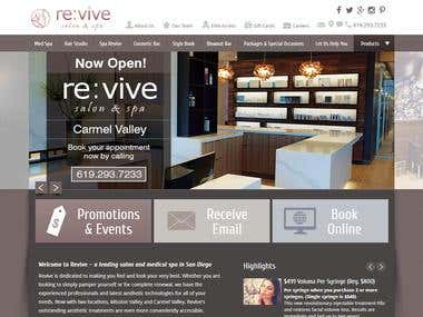 Wordpress Revive and Salon