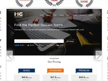 Latest Wordpress theme