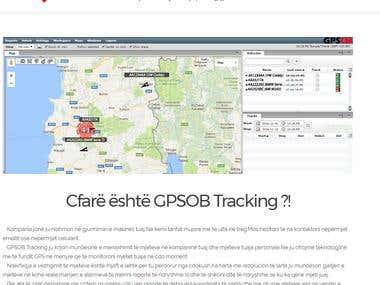 GPSOB Tracking Website