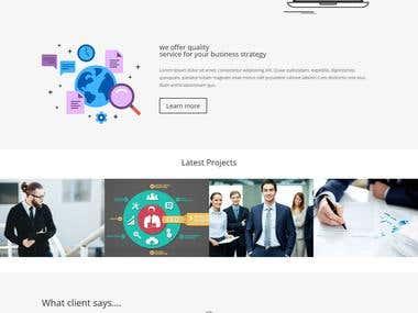 Responsive Website For Digital Marketing Agency