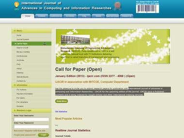 International journal of advances in computing and Informati