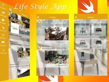 Lifestyle- iOS App
