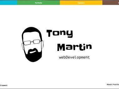 Personal website | www.tonymartin-web.com