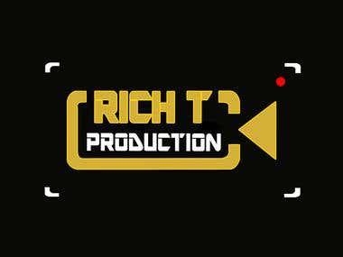 Rich T Productions Logo Design