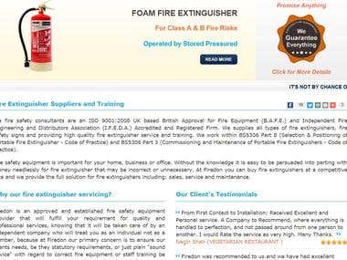 Fire Extinguisher Suppliers and Training