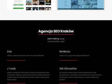 Landing Page for Digital Agency - Wordpress