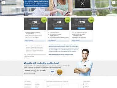 GI TELECOM - Website Design