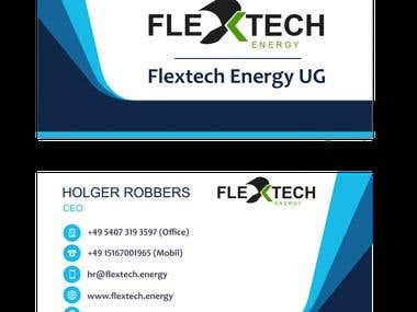 Branding for Flextech Energy