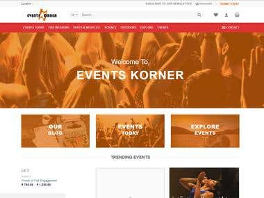 Event Website