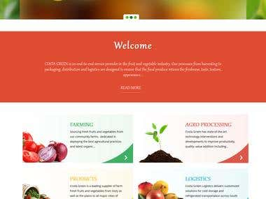Agriculture - Wordpress