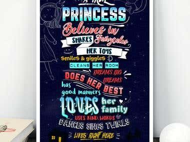 Poster for children