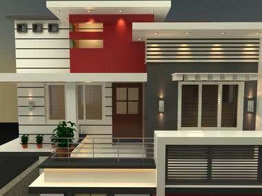design front elevation