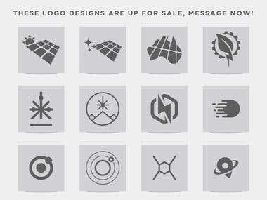 MY LOGO PORTFOLIO - (Message me if you want to purchase any)
