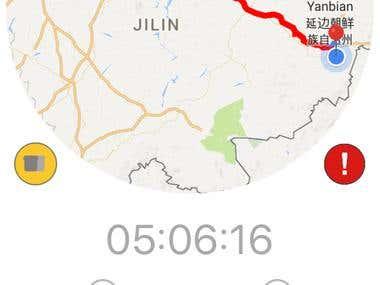 ByMySide - GPS Tracking