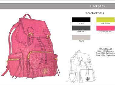 Accessories design (bags, shoes, sunglasses)