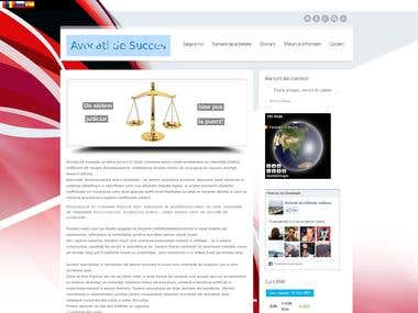Lawyer Website, translations