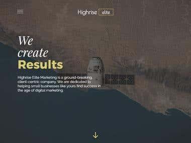 Highrise Elite website