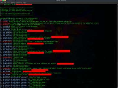 Scanning for vulnerabilities