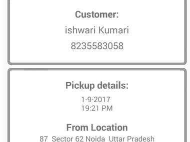 Taxi Driver App