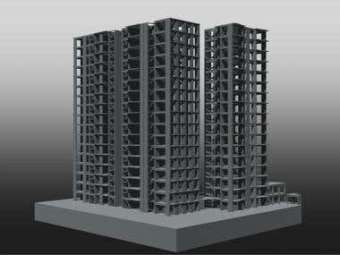 Structural Design of High Rise Building, Cairo, Egypt