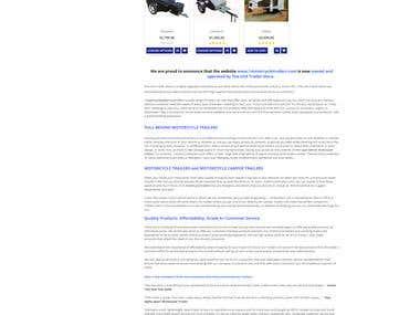 1motorcycletrailers.com