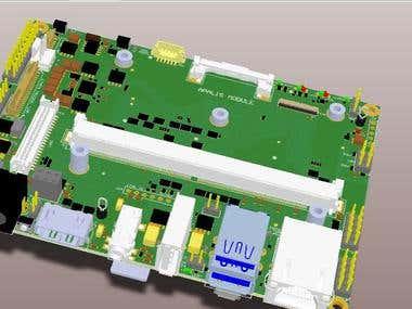 Ixora PCB