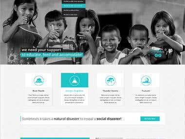 Fund site for children
