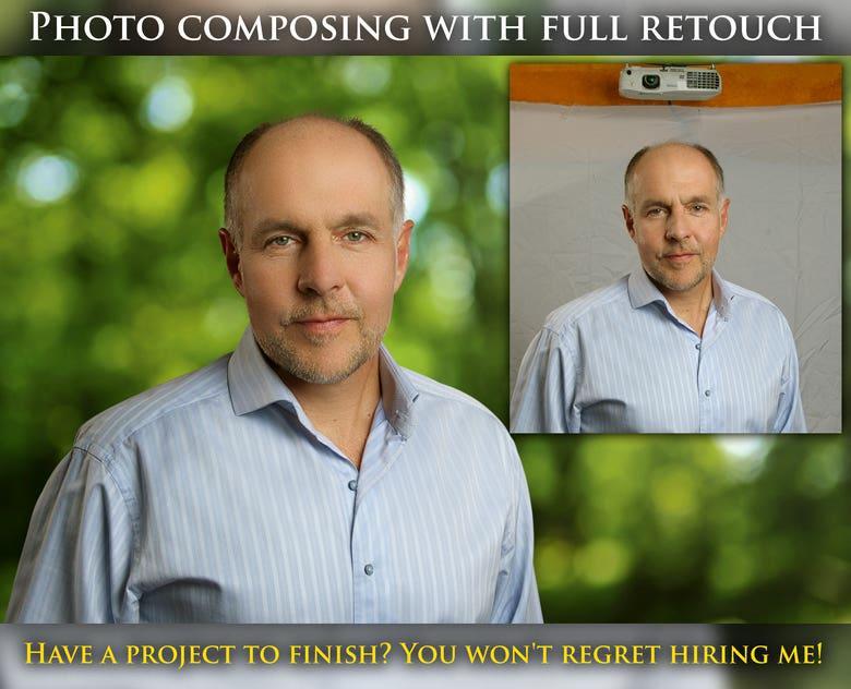 Photo composing
