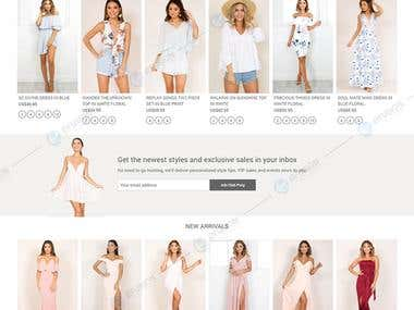 Fashion e-commerce Portal | Magento