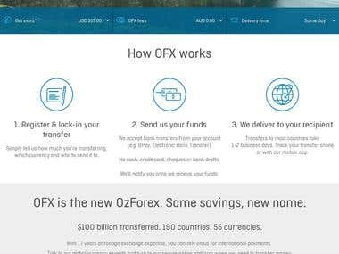 OFX   International Money Transfers & Currency Exchange